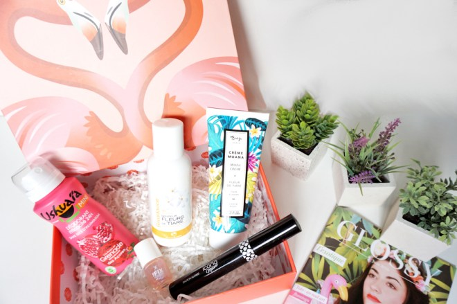 glossybox exotique 02