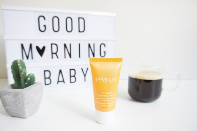 Beauty Blog Beauté My Payot Sleeping Pack