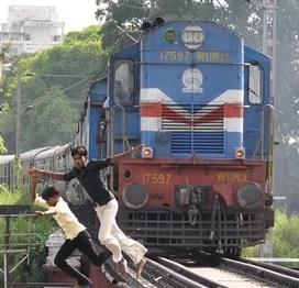 Fugindo do trem