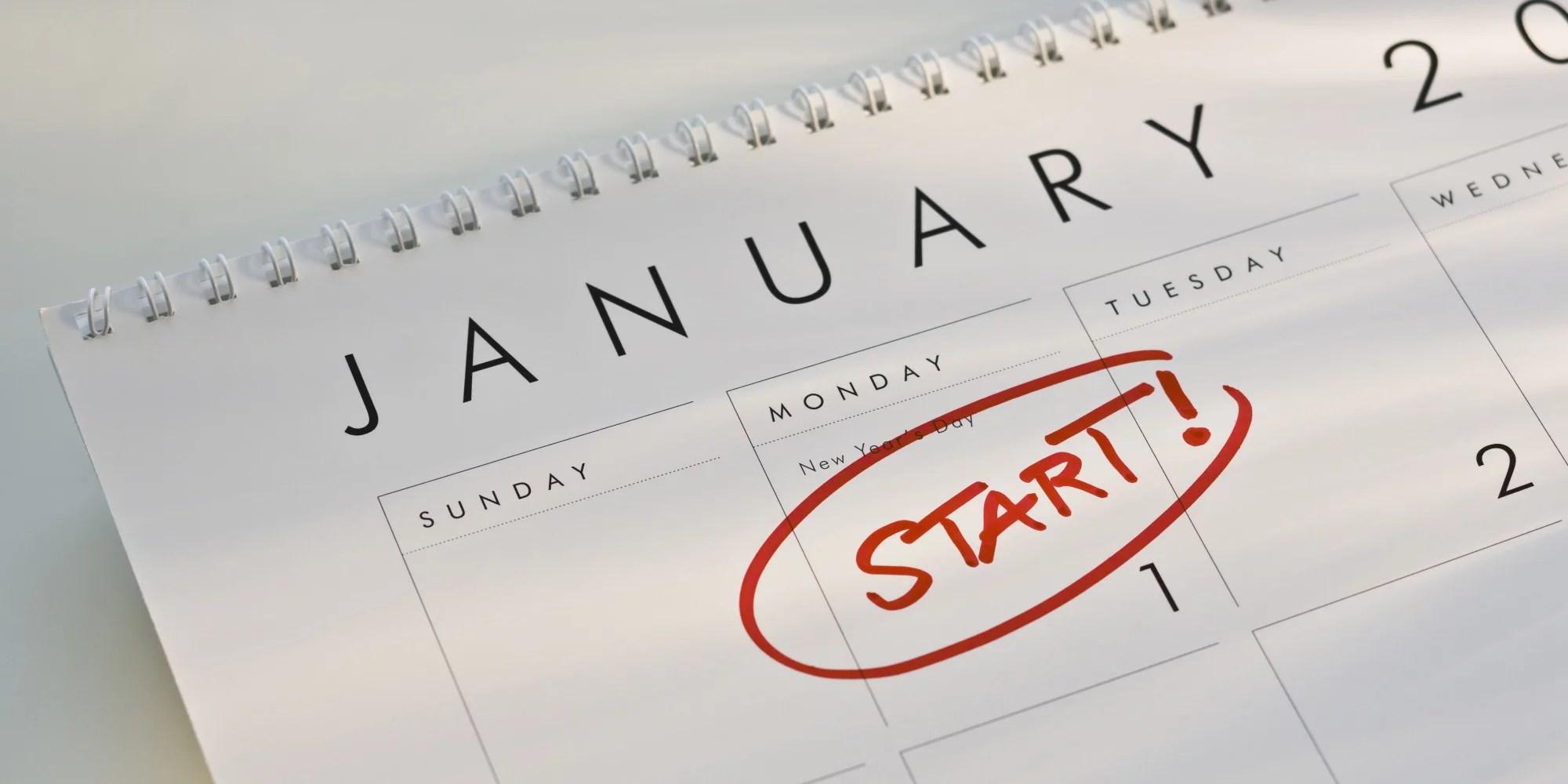Melhor resolução de Ano Novo