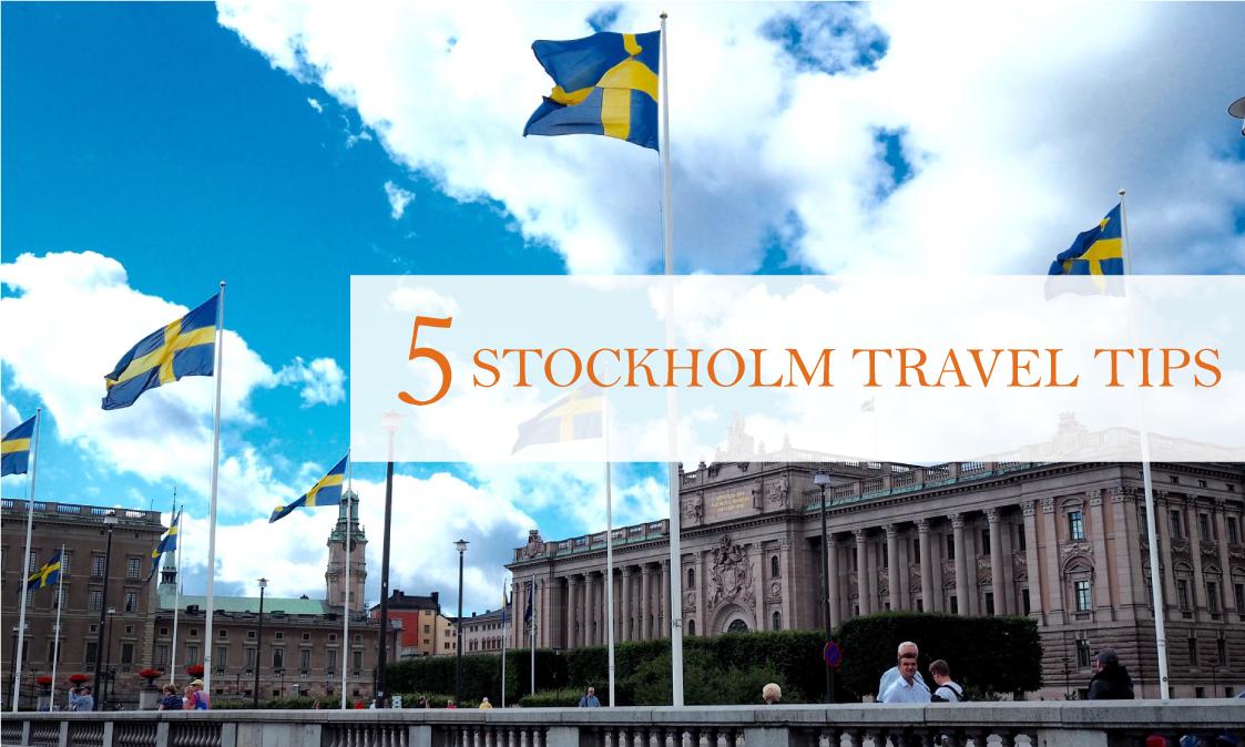 5 Stockholm travel tips