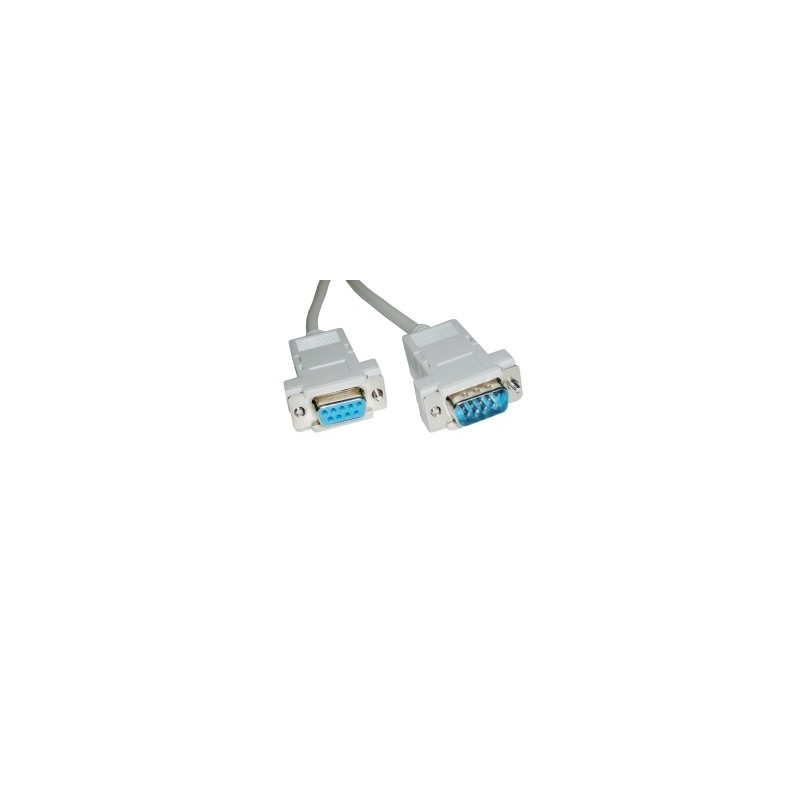 Outlet Moviles Libres Cable Serie Rs232 Db9-hembra A Db9 Macho 5 Mts - Antonio