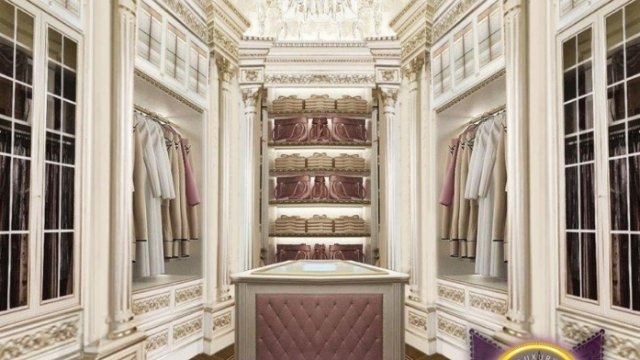 Beautiful Dressing Room Design In Dubai By Luxury