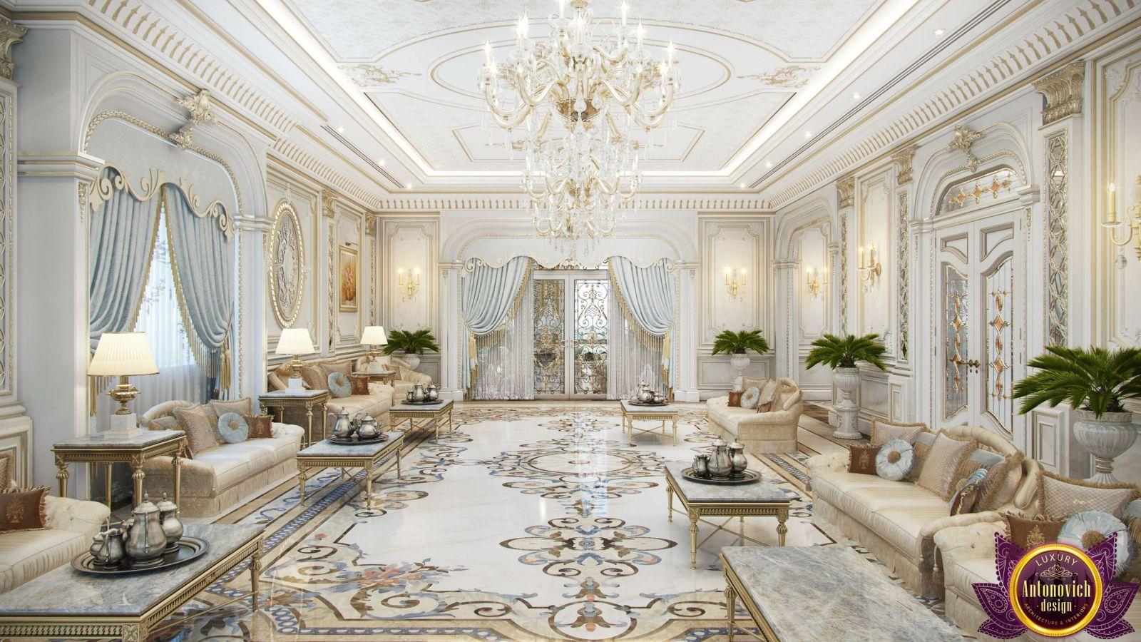 Luxury Antonovich Exclusive Interior Design in Saudi Arabia.
