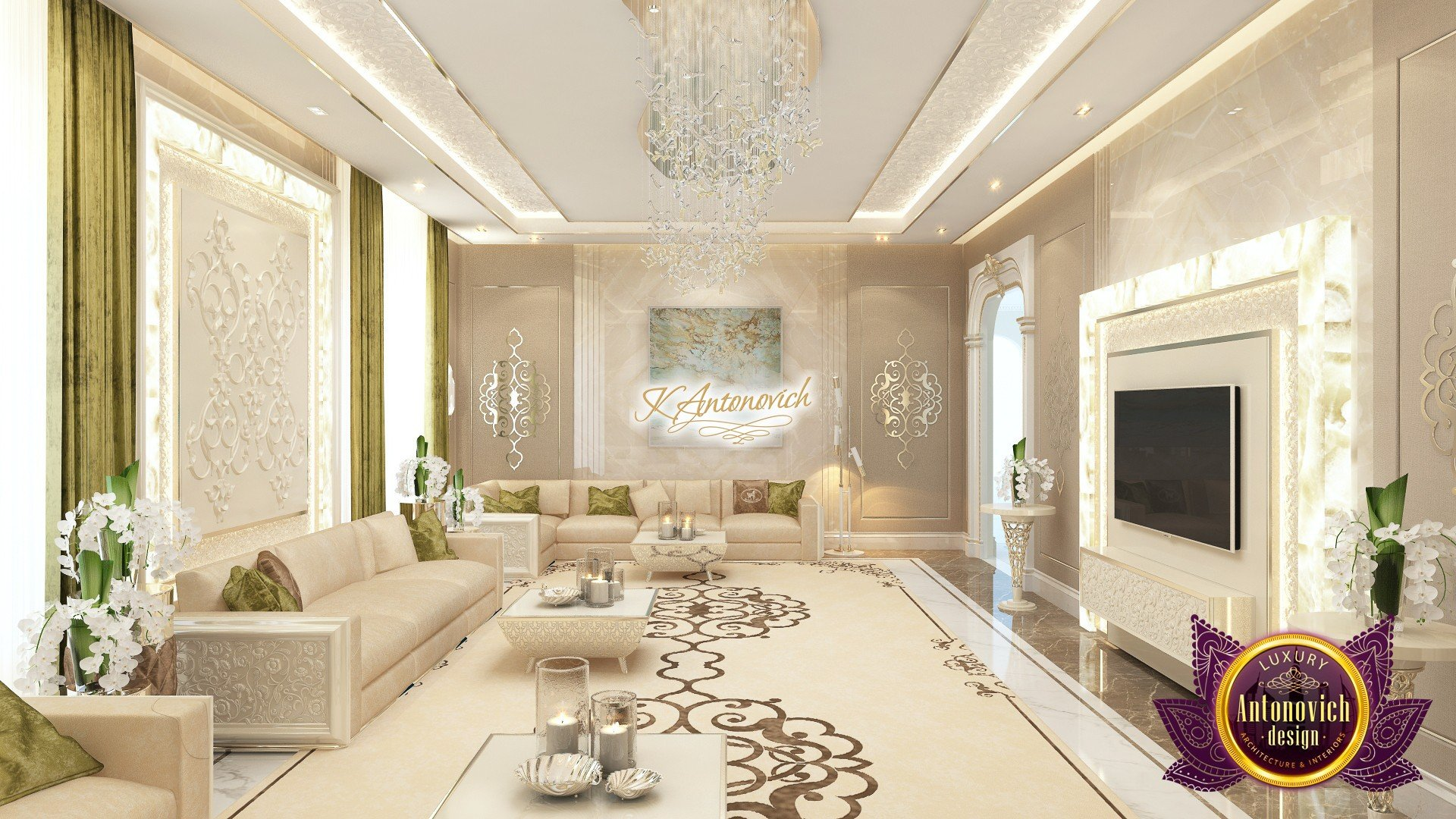 Luxurious Living Room Design Luxury Living Room