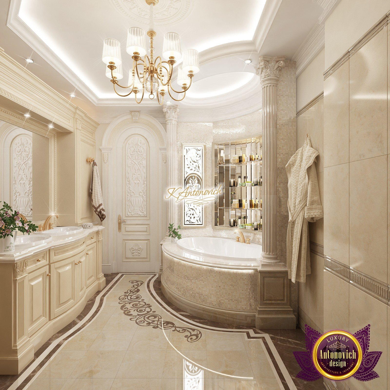 Innenarchitektur Badezimmer Bathroom Interior Design