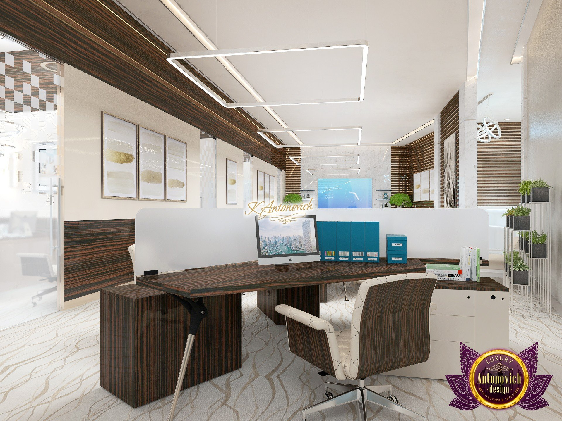 Modern Office Design Luxury Modern Office