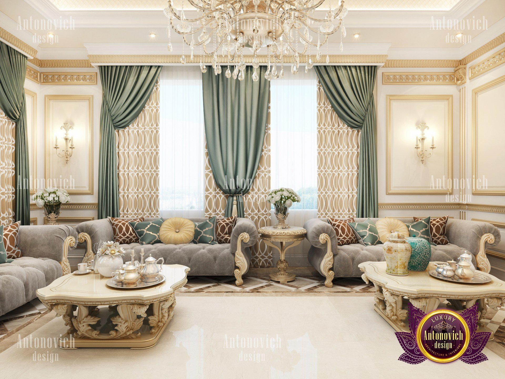 Styles For Living Room Living Room In A Classic Style