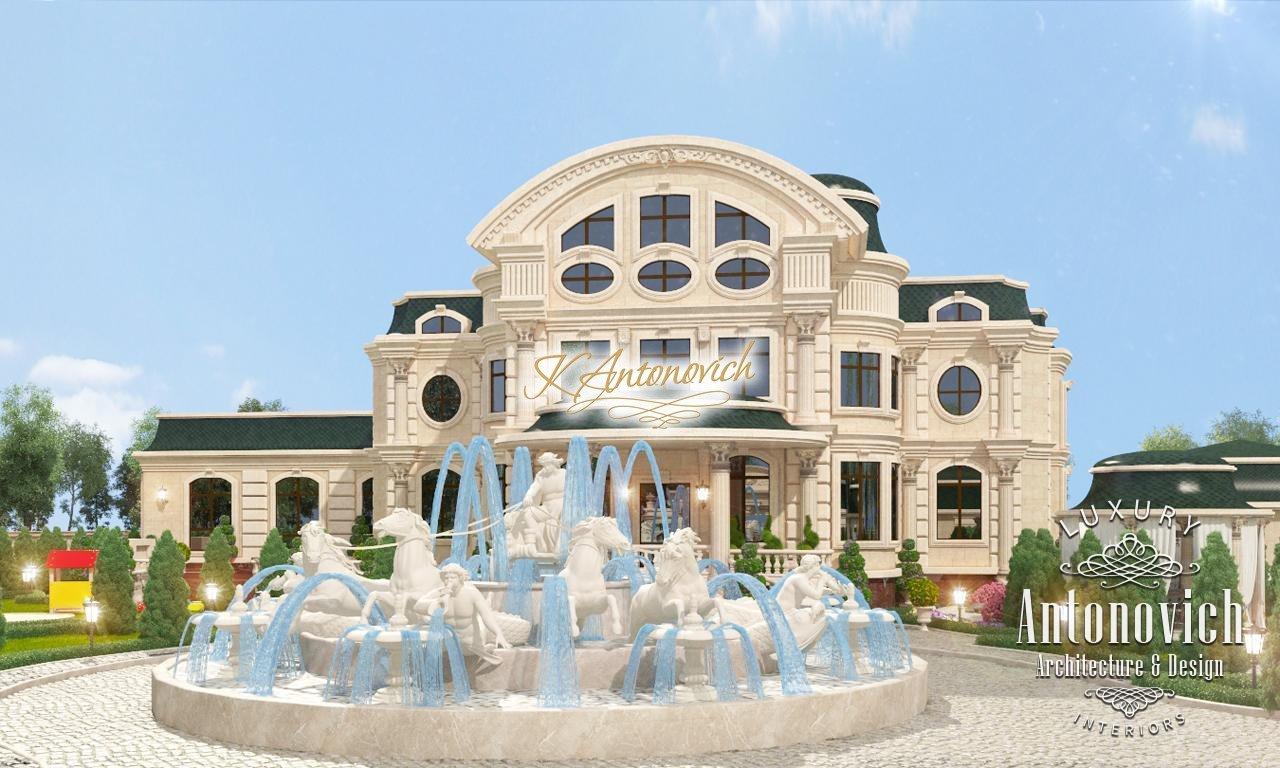 Exterior villas design uae