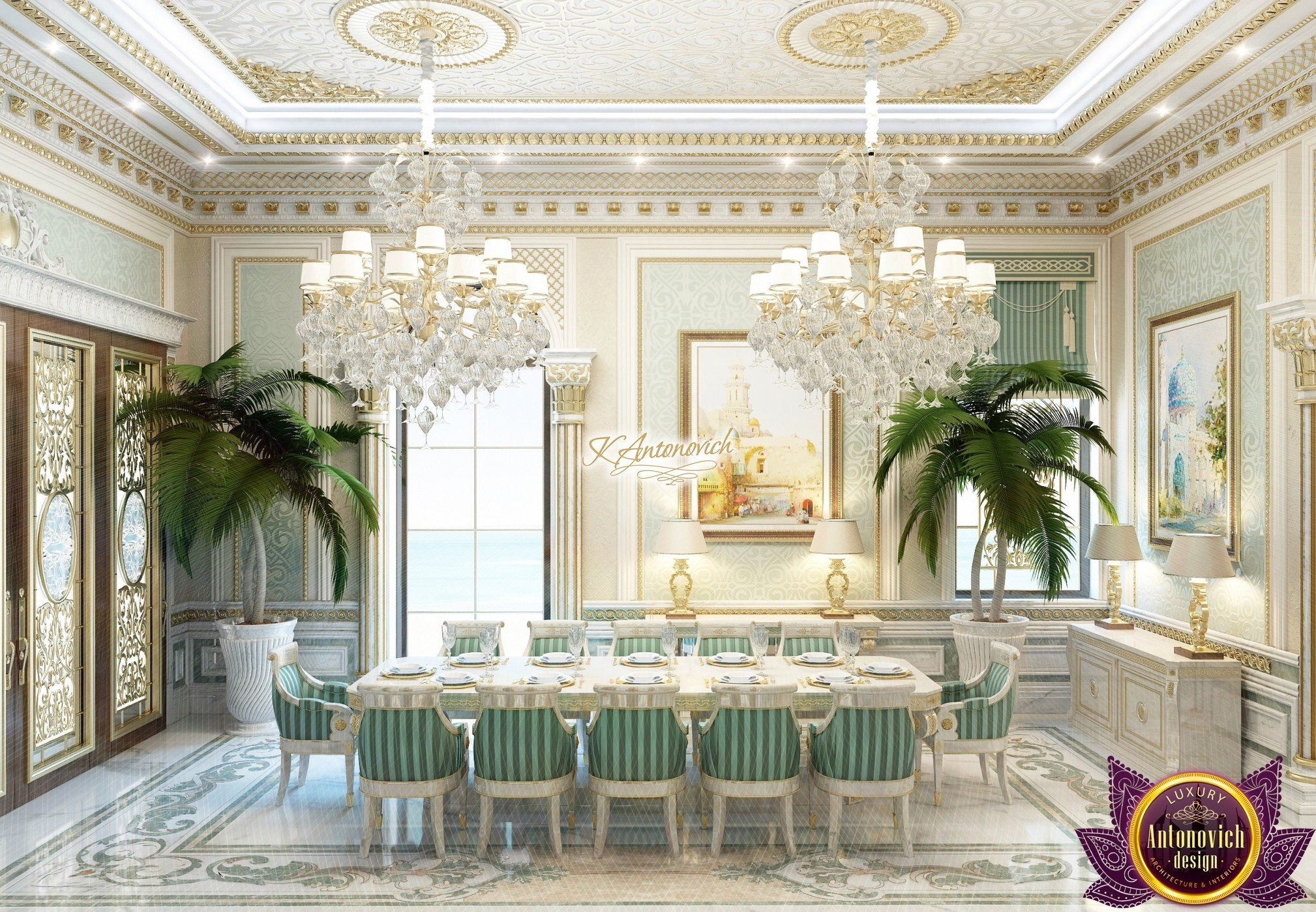 Luxurious Dining Rooms Magnificent Luxury Dining Room Design Ideas