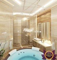 Relaxing Bathroom Interior Design