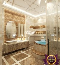 Relaxing Bathroom Interior Design