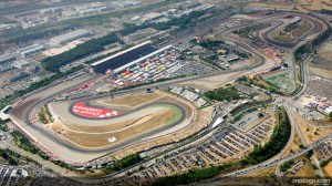 Vista Aerea del circuito de Aperol en Montmeló, Catalunya