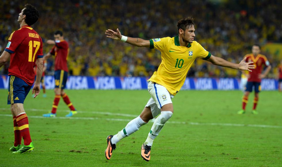 (((VIDEO))) El gol de Neymar ante Colombia