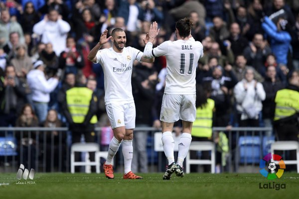 (((VIDEO))) Goleada del Real Madrid al Sporting (5-1)