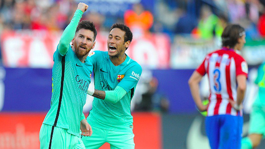 (((VIDEO))) El Barcelona gana con gol de Messi al Atlético