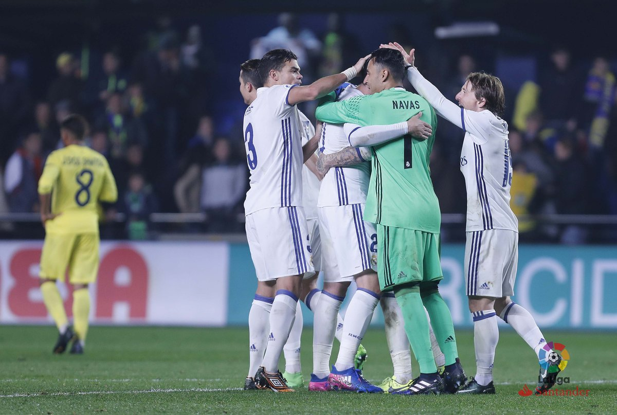 (((VIDEO))) El Real Madrid remonta ante el Villarreal