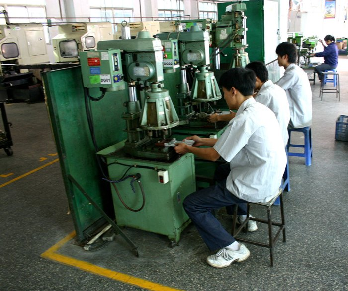 Multiple Spindle Drilling & Tapping Machine