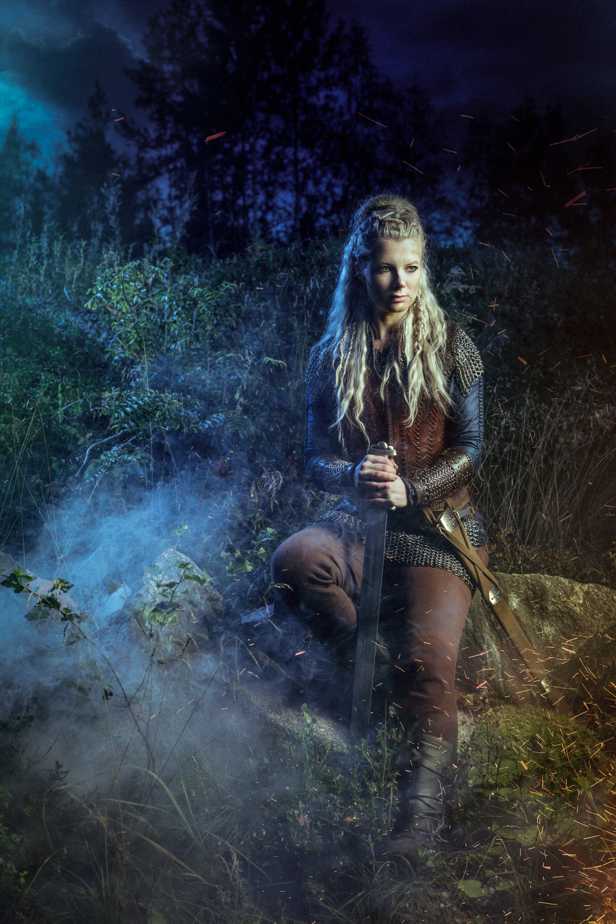 Mythical Creatures In The Fall Wallpaper Watch Out Lagertha There Is A New Badass Shieldmaiden In