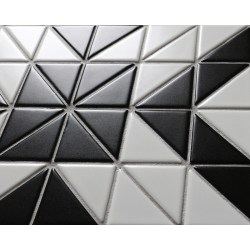 Small Crop Of Black And White Tile Floor