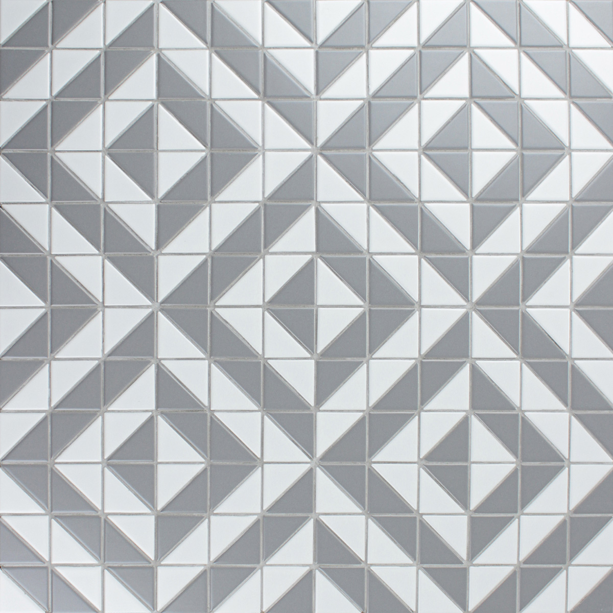 Tiles Design Grey Artistic 2 39 39 Matte White Grey Triangle Tile Kitchen