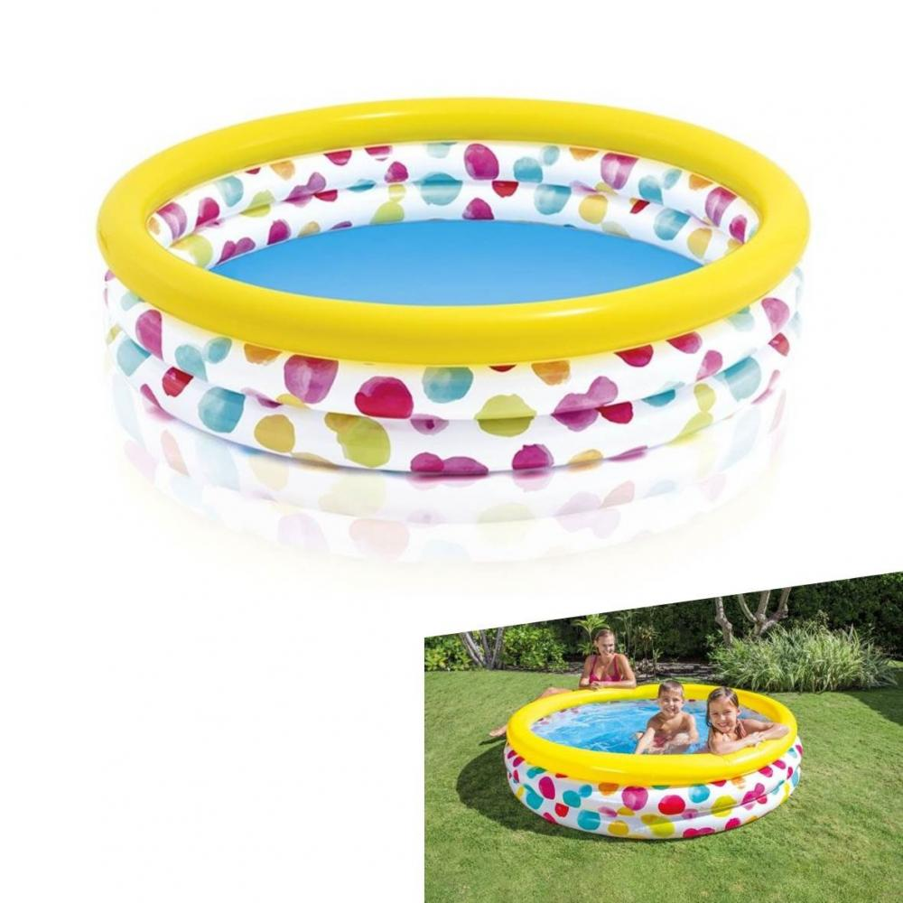 Piscina Inflable Intex Piscina Inflable Intex 3 Anillo 114x25cm Ref 59419np
