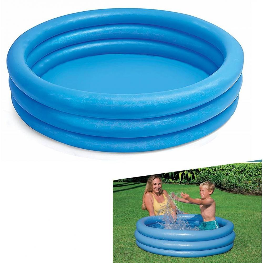 Piscina Inflable Intex Piscina Inflable Intex 3 Anillo Azul 114x25cm Ref 59416