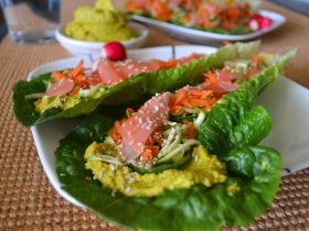 Coconut Curry Wraps An Unrefined Vegan