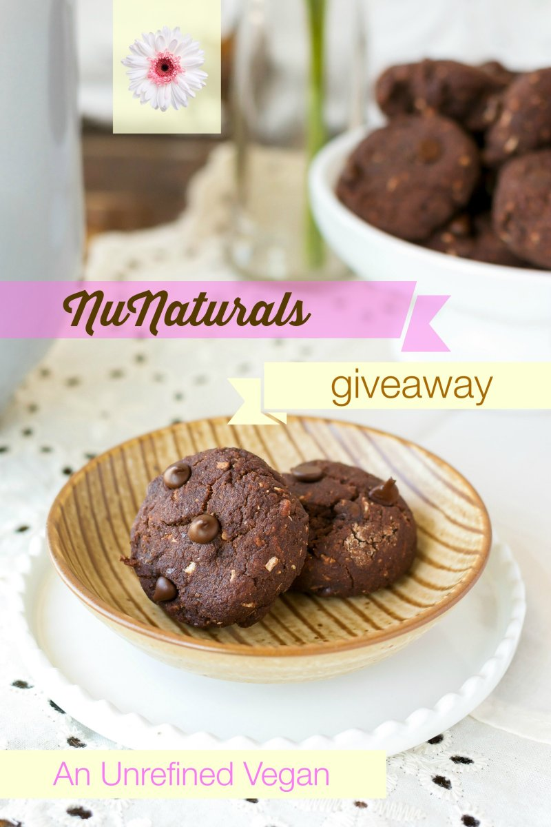 Fudgey Brownie Bites, Gluten- and Sugar-free + A NuNaturals Giveaway