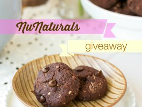 An Unrefined Vegan Fudgey Brownie Bites NuNaturals Giveaway
