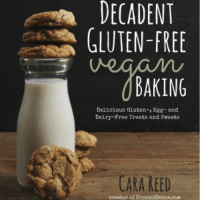 Decadent Gluten-free Vegan Baking Giveaway and Meet Cara!