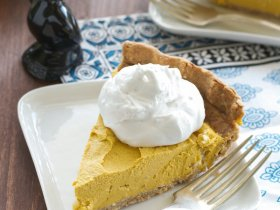 Pumpkin Coconut Pie An Unrefined Vegan