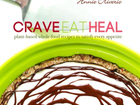 Crave Eat Heal Cookbook Cover by Annie Oliverio