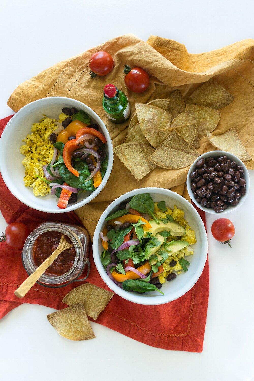 Vegan Bowl Attack! Giveaway + Scramble Burrito Bowl
