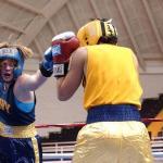 女性ボクサーの試合