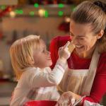 未婚のシングルマザーのクリスマス