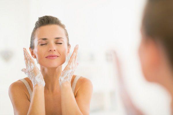 1日2回の洗顔