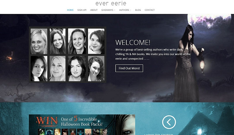 New website: Ever Eerie!