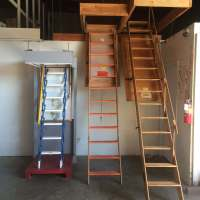 Attic Ladders - Industrial Ladder and Scaffolding, Inc.