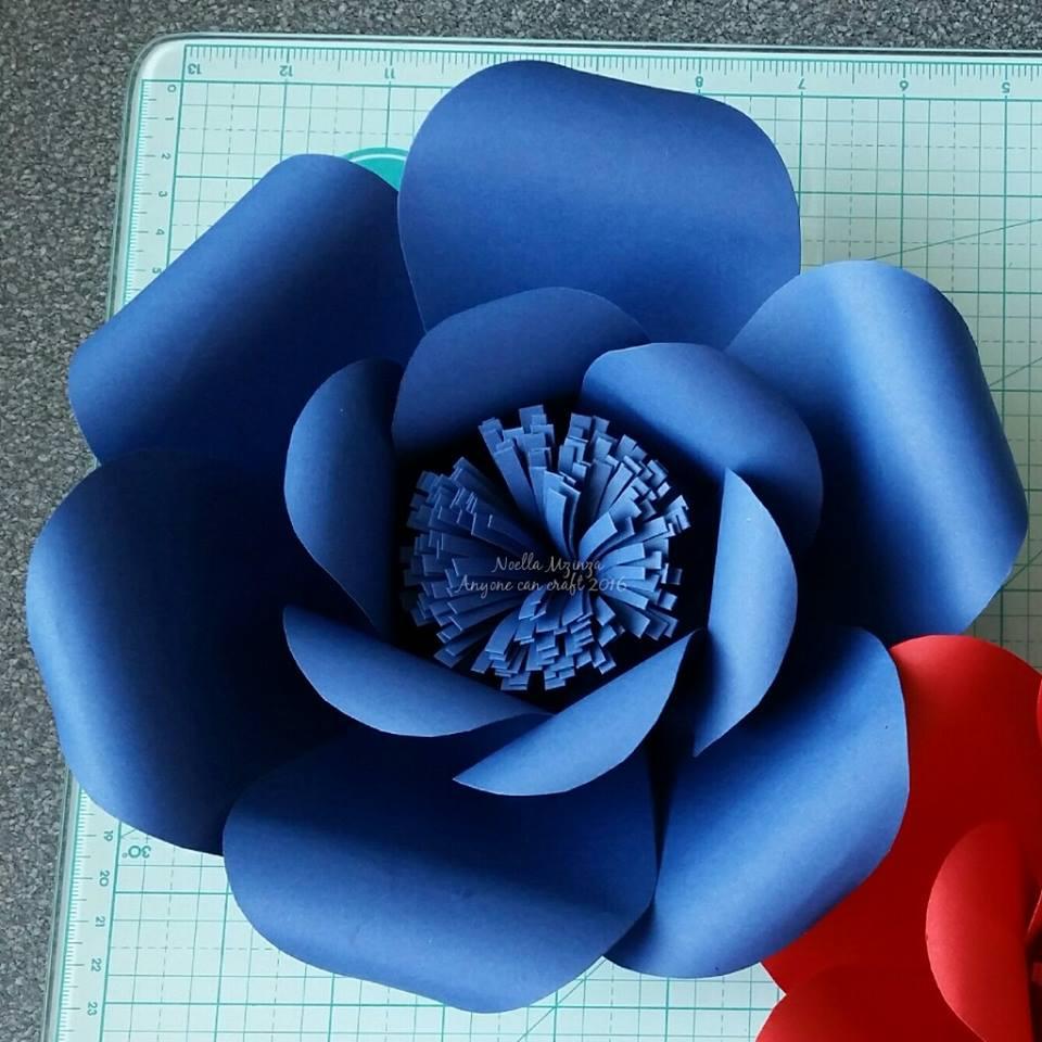 flower petal template