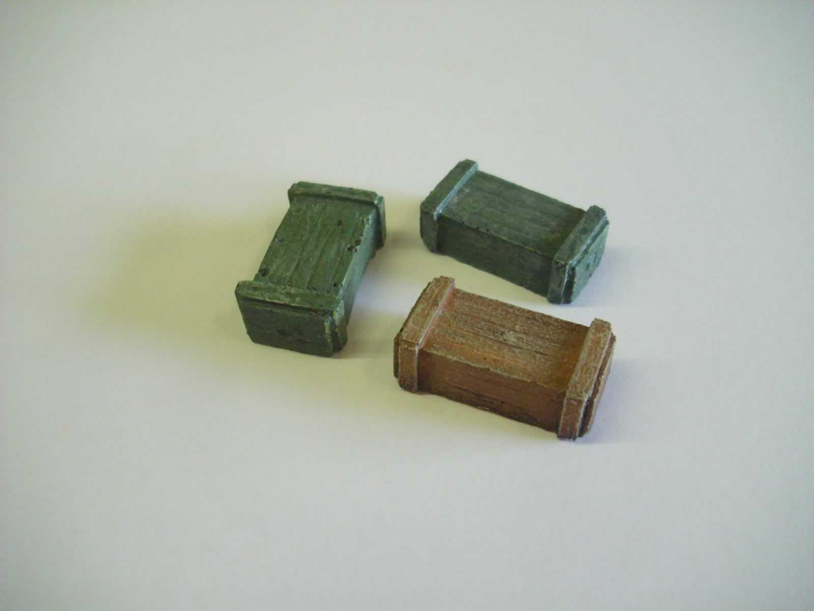 Weapon Ammo Boxes X 3