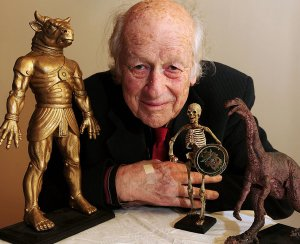 Behold, an unequalled genius: Ray Harryhausen.
