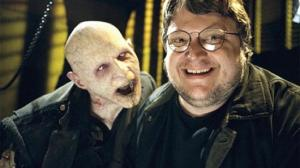 Guillermo del Toro and friend. del Toro is on the right. I think.