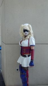 EvilQueenB as Arkham Harley Quinn