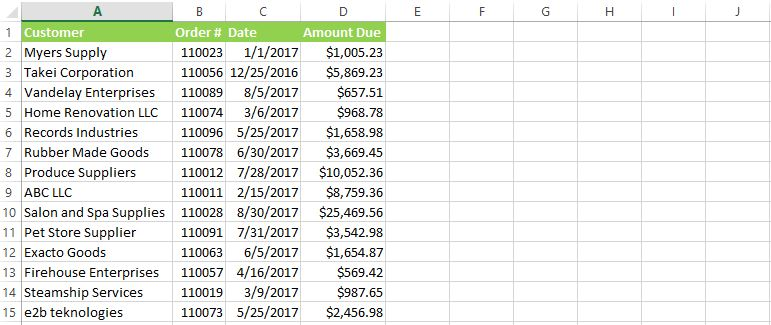 HOW TO CREATE AN AGING REPORT IN EXCEL - AnytimeCollect
