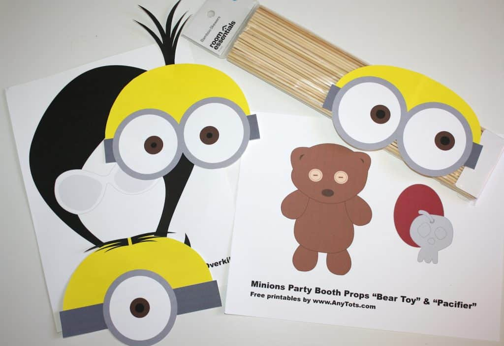 Free Printable Minion Birthday Party Invitations - Cohodemoinfofree