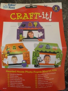 Haunted House Photo Frame Kits