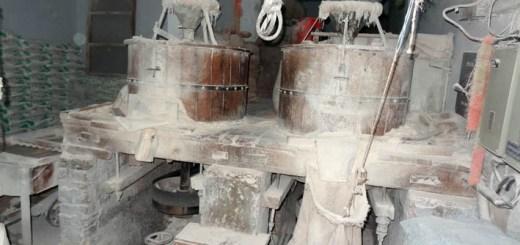 Flour Mill in a roadside shop in Punjab, India