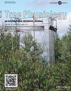 Tree Physiology cover for Carbon Allocation of Trees and Forests issue