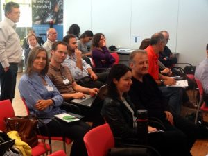 Audience for annual meeting